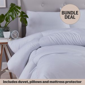 Silentnight Anti-Allergy All-In-One Bedding Bundle