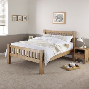 Silentnight Ayton Solid Oak Bed Frame