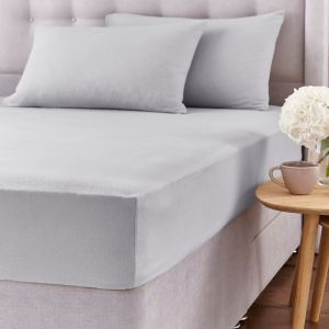 SIlentnight Brushed Cotton Fitted Sheet