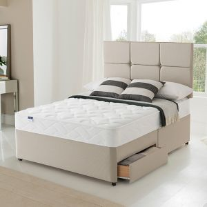 Silentnight Comfort Miracoil Essentials Divan Bed