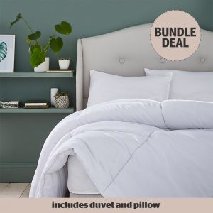 Silentnight Eco Comfort Duvet & Pillows Bundle