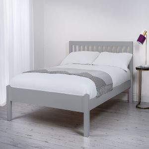 Silentnight Hayes Single Wooden Bed Frame, in Grey