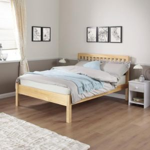 Silentnight Hayes Wooden Bed Frame, in Natural Pine