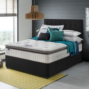 Silentnight Miracoil Geltex Divan Bed