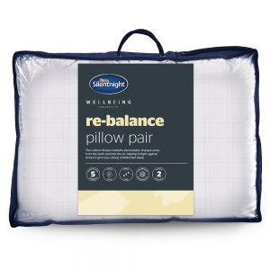 Silentnight Re-Balance Wellbeing Pillows 2 Pack