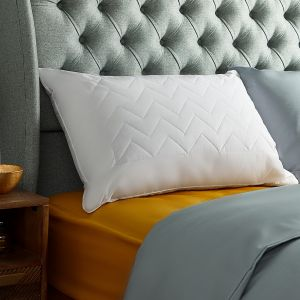 Rest Assured Quilted Wool Pillow
