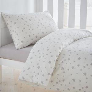 Silentnight Safe Nights Stars Duvet Cover Set - Cot Bed