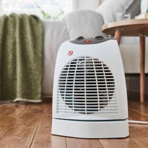 Silentnight Oscillating Combined Fan Heater/Cooler