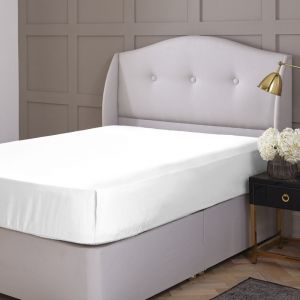 Silentnight Extra Deep 180 Thread Count Percale Fitted Sheet