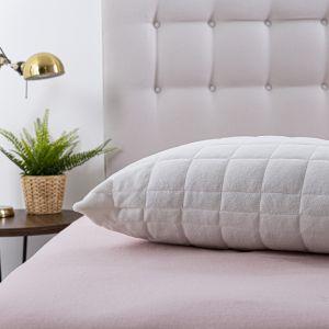 Silentnight Touch of Velvet Pillow