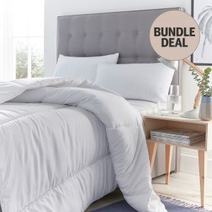 Silentnight Pure Cotton Summer Duvet & Pillows Bundle