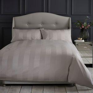 Silentnight Sateen Stripe Duvet Cover Set