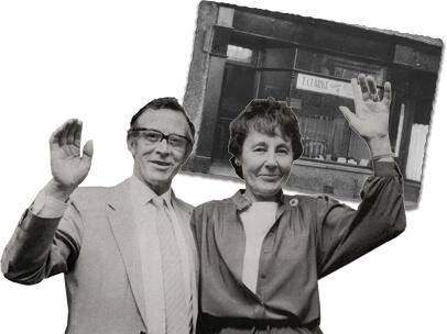 Tom and Joan Clarke - Clarke's Mattresses