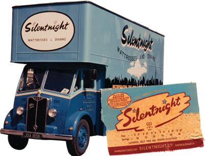 Silentnight Branded Van and Poster