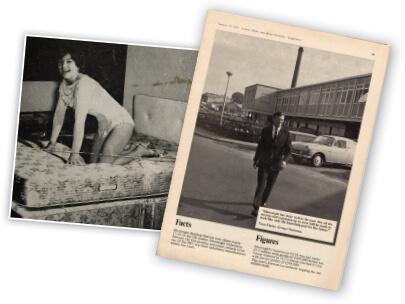 Silentnight Barnolswick factory magazine coverage