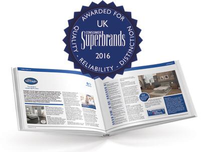 Superbrands book featuring Silentnight
