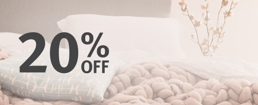 20% OFF Beds