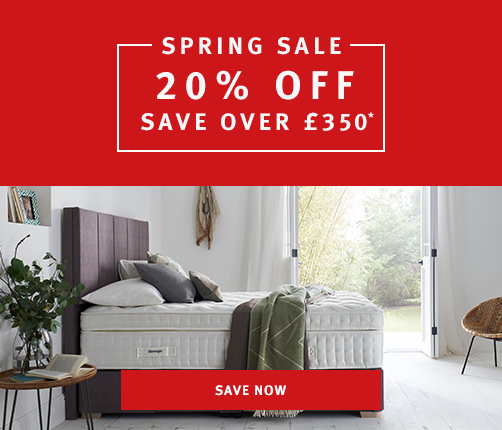 20% off in our spring sale