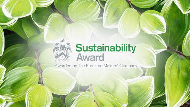 Sustainability Award - Awarded by The Furniture Makers' Company