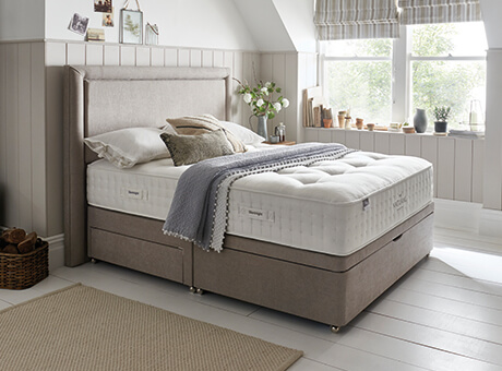 Stupendous Bed Size Guide Uk Standard Bed Sizes Silentnight Alphanode Cool Chair Designs And Ideas Alphanodeonline