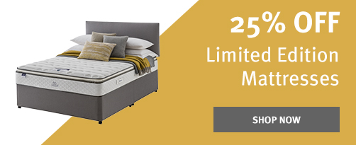 25% Off Limited Edition Mattresses
