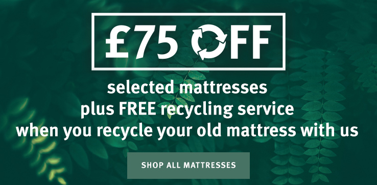 Up to 20% OFF selected mattresses