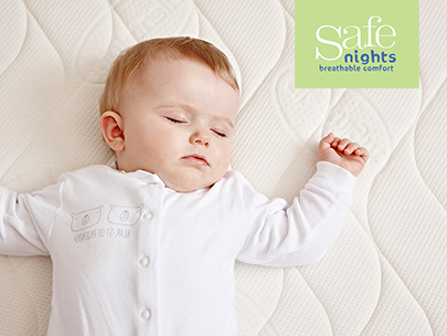 Safe nights mattress range