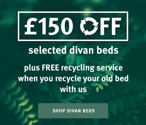 Up To £150 Off When You Recycle Your Old Bed With Silentnight