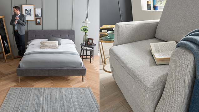 Upholstered bedframe and sofa bed