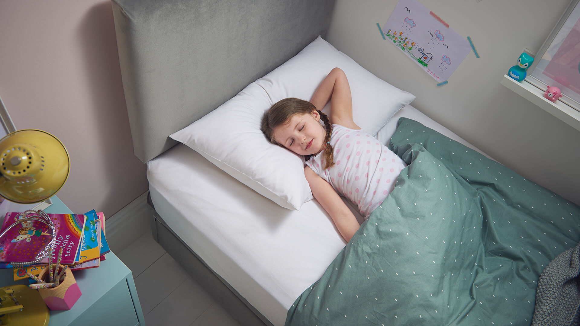 Fresh bedroom environment