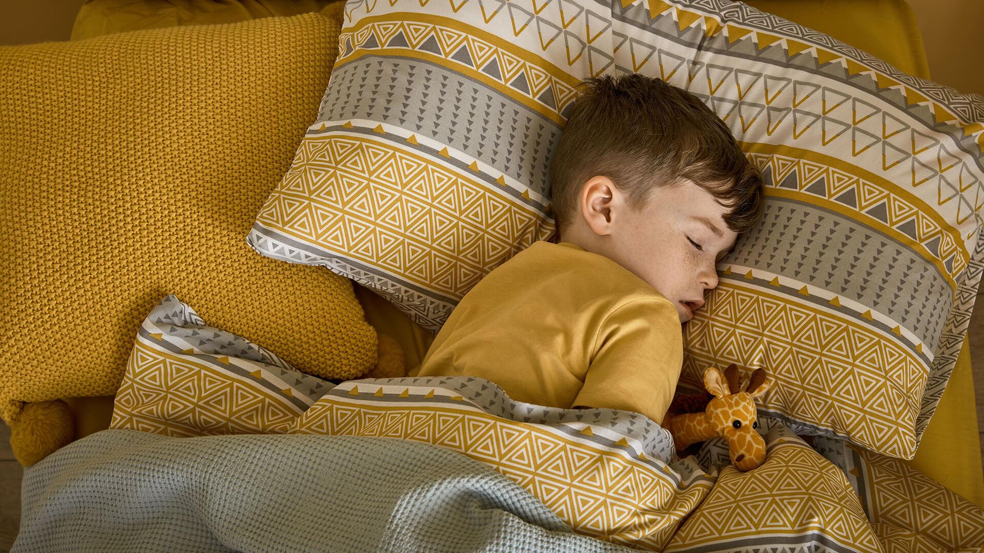 Regular bedtimes for kids