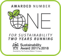 Number 1 for sustainability